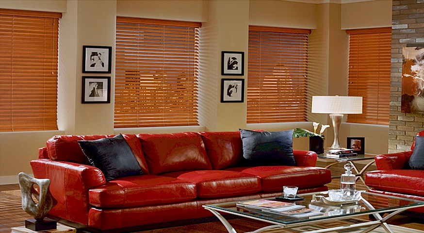 Laminated Wood Blinds